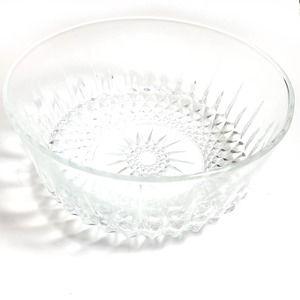 Vintage   Arcoroc France Crystal Bowl